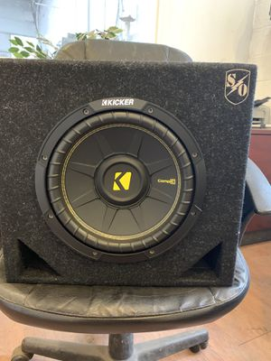 Kicker Subwoofer With Amplifer 500 Watts for Sale in Silver Spring, MD