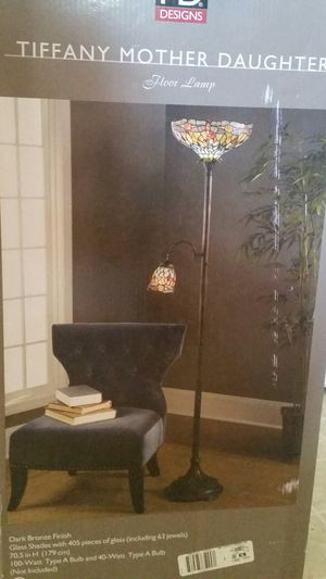 Tiffany Mother Daughter Floor Lamp for Sale in Sanger, CA