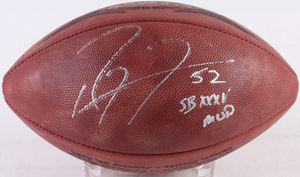 "Ray Lewis Signed Ravens Offical Super Bowl XXXV Game Ball Inscribed ""SB XXXV MVP"" for Sale in Herndon, VA"