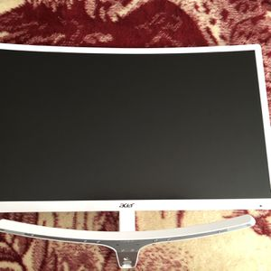 """Acer Gaming Monitor 23.6"""" Curved 1920 X 1080 75Hz for Sale in Bogota, NJ"""