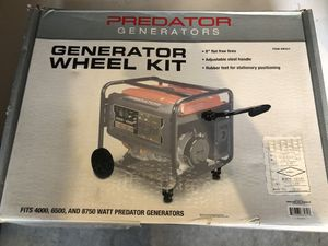 Generator Wheel Kit for Sale in Gilroy, CA