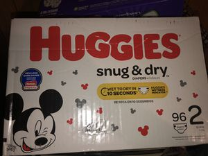 Huggies size 2 for Sale in Chicago, IL