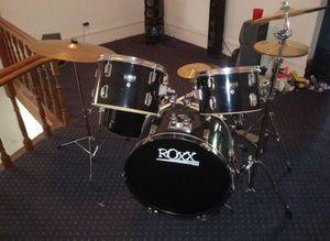 Roxx 5 piece drum set for Sale in Paw Paw, MI