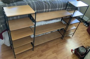 Longaberger Wrought Iron 5 Tier Shelf Stands for Sale in Avon, OH
