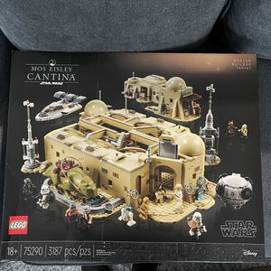 LEGO Star Wars A New Hope Mos Eisley Cantina 75290 Building Kit for Sale in Stamford, CT