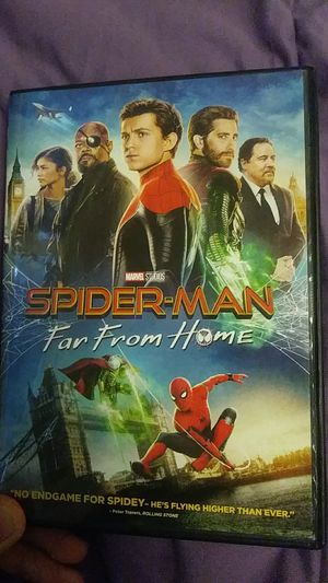 Spiderman Far From Home DVD for Sale in Pismo Beach, CA
