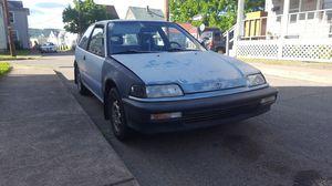 1990 honda civic DX, 1.5L D15 for Sale in Berwick, PA