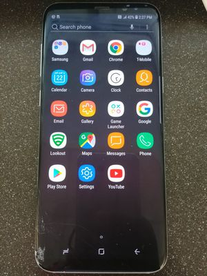 Samsung Galaxy S8 Plus 64gb T-mobile Unlocked for Sale in Rockville, MD
