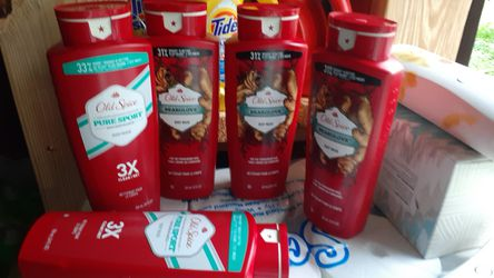 Old spice body wash 24 FL oz and 21 FL oz 5 bottle for Sale in Land O Lakes,  FL