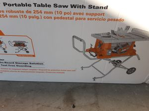 Rigid table saws for Sale in Lanham, MD