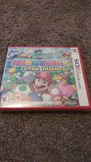 Mario Party: Star Rush for 3DS or 2DS for Sale in Tempe, AZ