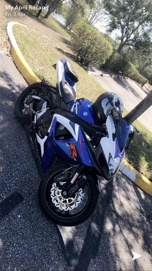 2007 Suzuki Gsxr 750 motorcycle for Sale in Orlando, FL