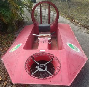 2 Passenger 11.5Ft Hovercraft Body Project *No Motors* Open to Trades for Sale in Hollywood, FL