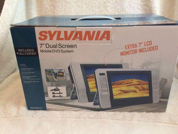 Sylvania 7 inch Dual Screen Mobile DVD System