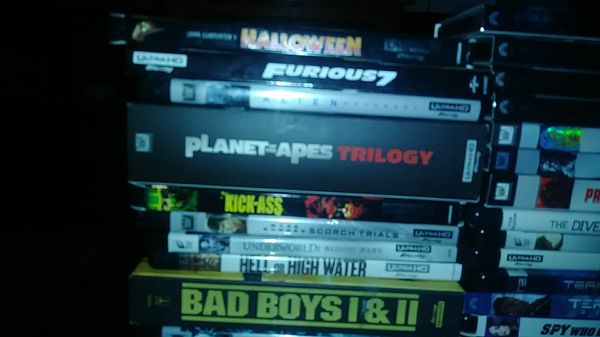 4k + bluray movies