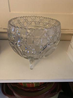 Antique Cut Glass Bowl for Sale in Orlando, FL