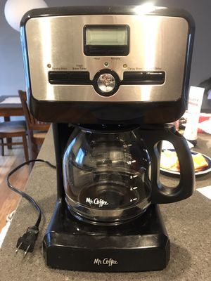 Mr. Coffee 12-cup coffee maker for Sale in Herndon, VA