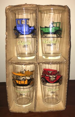 """1950s """"GAY GLASSES"""", doubled sided antique car glasses for Sale in Roanoke, VA"""