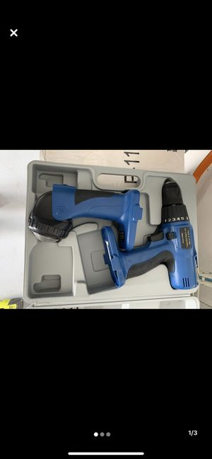 Cordless Drill 18V With Flash Lamp No Battery for Sale in Bradenton, FL