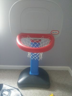 Kids indoor/outdoor adjustable basketball hoop for Sale in West York, PA