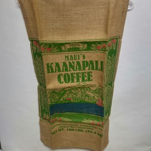 Kona coffee Burlap bags two types for Sale in Riverside, CA