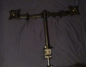 Dual monitor / tv desk mount for Sale in Bowling Green, KY