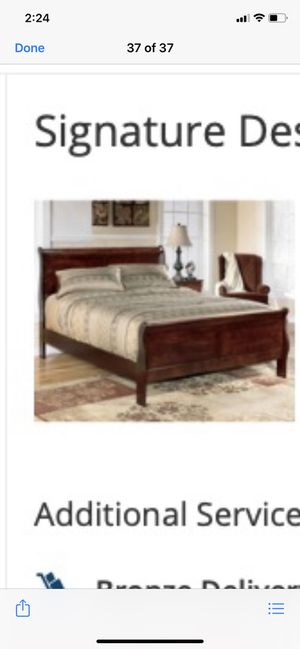 Queen size bed frame - Brand New for Sale in Grand Prairie, TX