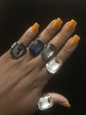 Rings with stretchy band for Sale in Linden, NC