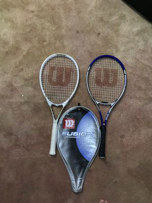 Two tennis rackets for $15 for Sale in Seattle, WA
