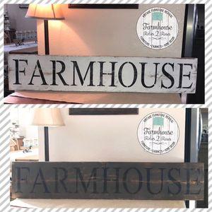 Custom Farmhouse Decor-Signs/Magazine Racks for Sale in Corona, CA