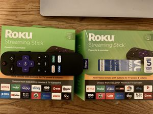 Roku Streaming Stick (2) for Sale in Gastonia, NC