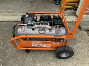 RIDGID 8 Gal. Portable Gas Power Zero Gravity Air Compressor (dewalt) - Model #: GP80150RTB - BRAND NEW for Sale in Spring, TX