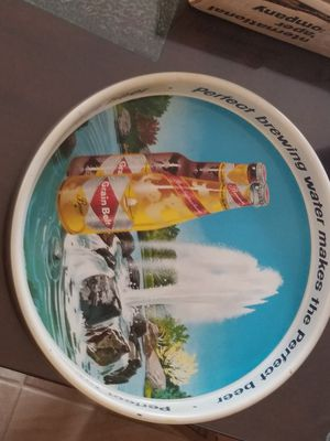 Vintage grain belt beer metal advertising tray for Sale in Chevy Chase, MD