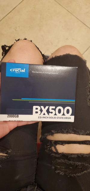CRUCIAL BX500 2TB 2.5 inch Solid State Drive SSD for Sale in Brea, CA