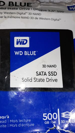 WD blue 2.5 solid-state drive SSD 500gb for Sale in Corning, CA