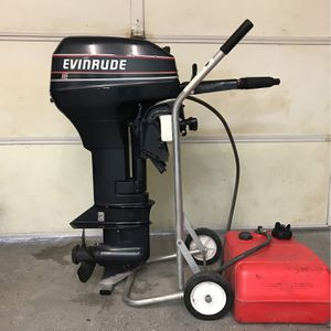 Evinrude 9.9HP Outboard Boat Engine for Sale in Huntington Beach, CA