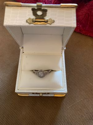 1/4 carat diamond cluster ring from Kay jewelers bought s couple Weeks ago for Sale in Terre Haute, IN