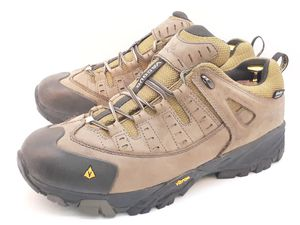 Vasque Mens Hiking Trail Shoes Nubuck Leather US 11.5 Waterproof Vibram Sole for Sale in Hayward, CA