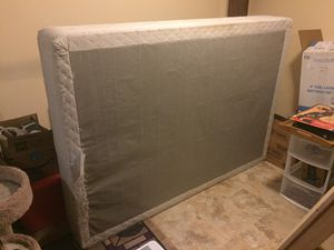 Full size box spring- free to good home! for Sale in Fairfax, VA