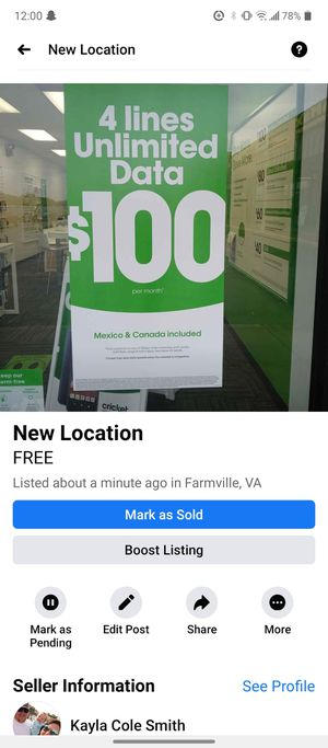 Wifi plans for you for Sale in Farmville, VA