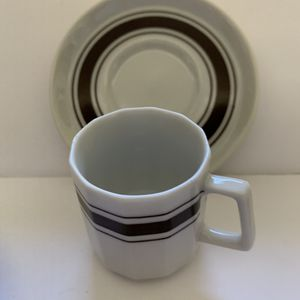 Sets of four specialty coffee cups and saucers for Sale in Murrieta, CA