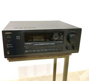 ONKYO TX-DS555 Audio Video Tuner Surround Power Amplifier for Sale in Dumfries, VA