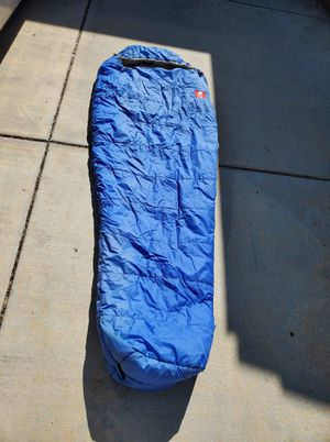 North Face 20f degree mummy hiking sleeping bag. for Sale in Temecula, CA