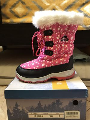 Girls size 3 boots for Sale in Vista, CA