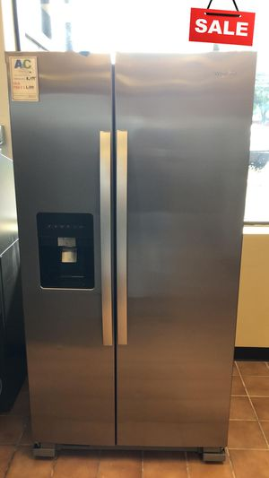 BIG BARGAINS!! CONTACT TODAY! Whirlpool Refrigerator Fridge Stainless Steel #1483 for Sale in Baltimore, MD