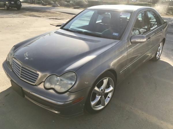 Nice 2004 Mercedes c230 turbo for parts parting out c320 c240 for Sale in  Dallas, TX - OfferUp