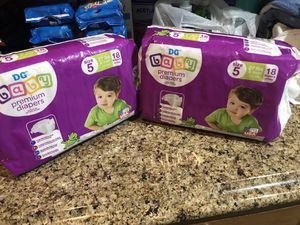 Dollar General Diapers Sz.5 for Sale in Fort Washington, MD