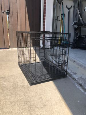 """AmazonBasics 24"""" Collapsable Small Dog Cage for Sale in Frisco, TX"""