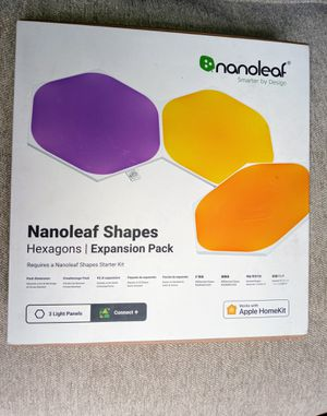 Nanoleaf 4 Piece Hexagon Expansion Pack for Sale in Chicago, IL