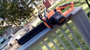 "Black and Decker Corded chainsaw 20"" bar for Sale in Greenville, RI"